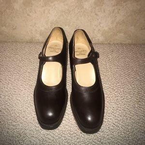Free Lance Paris brown leather shoes retro 6.5